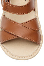 Leather sandals - Camel - Kids | H&M CN 3
